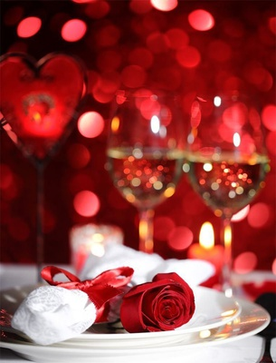 Romantic 4 Course Valentine's Candle Light Dinner Peninsula Excelsior Hotel