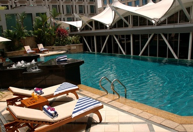 SWIMMING POOLS Peninsula Excelsior Hotel Singapore