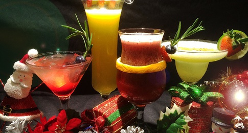 Festive Cocktails at only $18.00++ per glass