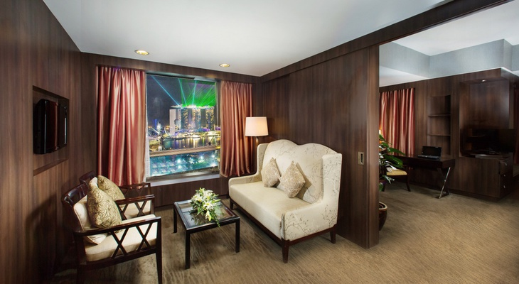 Premier Executive Suite Peninsula Excelsior Hotel Singapore